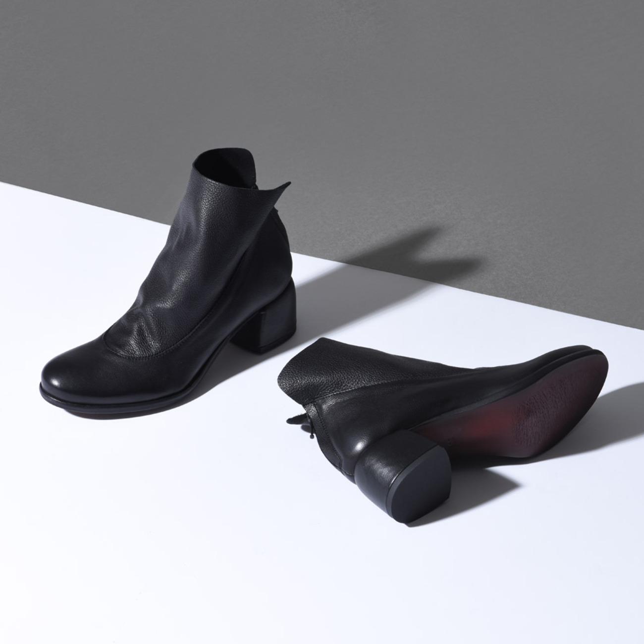 [LILIMILL] TWISNER ANKLE BOOTS - NERO
